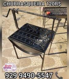 Título do anúncio:   churrasqueira tambo brinde 2 saco Carvão entrega gratis @!%#@