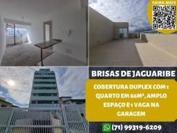 Título do anúncio: Brisas de Jaguaribe, cobertura duplex, 1 quarto em 86m² e 1 vaga na garagem
