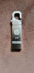 Título do anúncio: Pen-drive 2tb HP