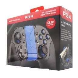 Controle Bluetooth PG4 para celular - Gamer