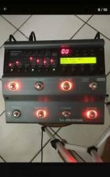 Pedaleira tc electronic Nova System troco Boss me-80 gt100