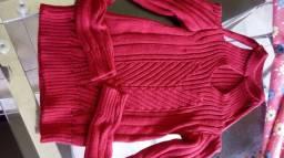 Linda blusa de frio