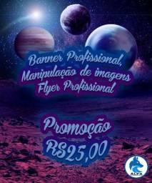 Banner e flyer profissional