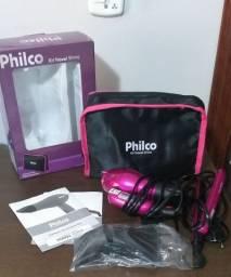 Kit secador e chapinha Travel Shine Philco