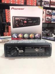 Som Automotivo Pioneer MVH-98UB MP3 Player - Rádio AM/FM Entrada USB e Auxiliar.