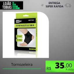 Título do anúncio: Par Tornozeleiras Bilateral Unissex Estabilizadora Tornozelo