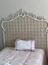 Cabeceira de cama princesa