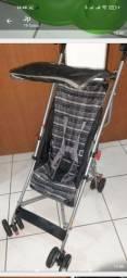 Carrinho de Bebê Umbrella Slim Voyage Preto