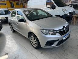 Título do anúncio: Renault Logan Life 1.0 Flex Completo 2020 Autos RR