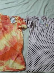 Título do anúncio: Kit com 2 vestidos Chanel  menina infantil