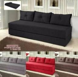 Vários modelos e cores de sofanete(sofá cama) chame whats 97035-0669 - Móveis em ]Geral!