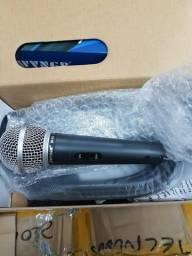 Com fio microfones de alta qualidade profissional