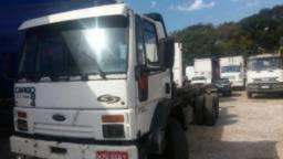 Ford Cargo 1418 troca parcela - 1987
