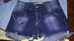 Short jeans novo