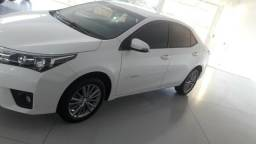 Toyota corolla 2017 xei 2.0 21 mil km branco perolizado - 2017
