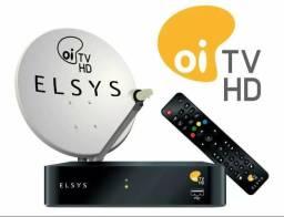 OI TV HD LIVRE de assinatura com 30 canais