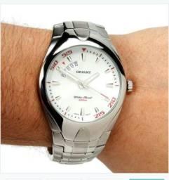 Relógio Masculino Analógico Orient Mbss1078-svsx - Prata 592b05dbb7