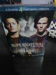 Box DVD Supernatural Quarta temporada Original