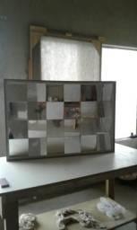 Quadro painel de espelhos 3d