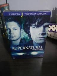 Box DVD Segunda Temporada Supernatural Original