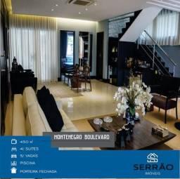 Montenegro Boulevard - Porteira Fechada - Casa Espetacular - Energia Solar - flexível