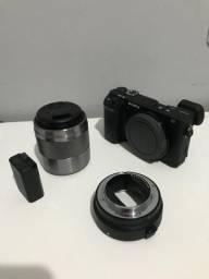 Usado, A6300 50mm adaptador Canon comprar usado  Sorocaba