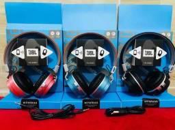 Headphone Revestido em Couro Jbl Bluetooth Yw-998bt
