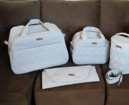 Kit bolsa de maternidade + brinde