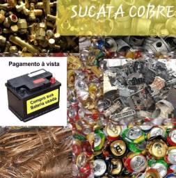 Alumino cobre bateria