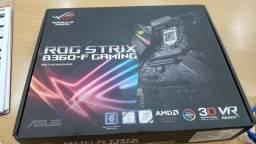 Placa Mãe Asus Rog Strix B360-f Gaming