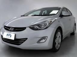 Hyundai Elantra GLS 1.8 Prata 2013 Automático Completo - 2013