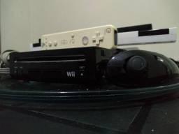 Wii + 1 controle + 1 Sensor bar sem fio