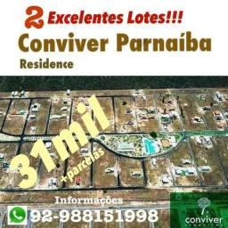 2 lotes no Conviver Parnaíba Residence