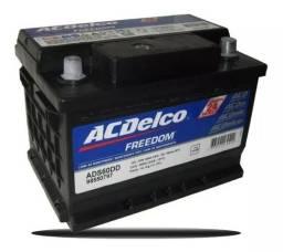 Bateria Acdelco 60ah Silver - 24 Meses De Garantia GM *