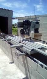 Máquina de serra mármore