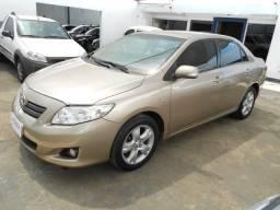 Toyota corolla xei 1.8 flex automático 2009/2010 completo novíssimo file - 2010