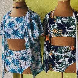 Conjunto Kimono + Hot Pand