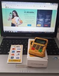 Maquininha de Cartão Minizinha Chip 2 ( Disponível a pronta entrega )