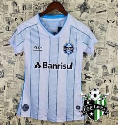 Camisa Grêmio Feminina Branca 2020