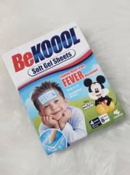 Bekool adesivo para alivio febre e vacinas