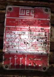 Motor WEG 7,5 Cv 800,00