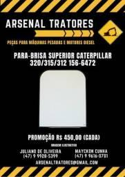 Vidro Para-brisa Superior Caterpillar 320/315/312 156-6472