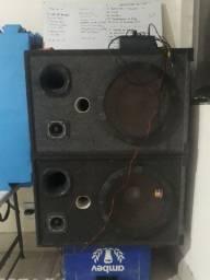 Oportunidade caixas de som  V/T