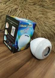Lâmpada RGB musical Bluetooth (delivery gratis na zona urbana de são Luis)