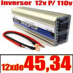 Inversor Onda Modificada 12v P/ 110v Veicular 4000w