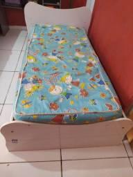 Cama Infantil c/ colchão