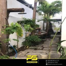 Casa com 4 dormitórios para alugar por R$ 18.000/mês - Camboinha - Cabedelo/PB