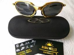 Óculos de sol Oakley double X Metal 24k