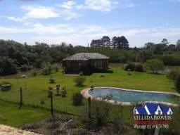 Velleda oferece 3 hectares, com 2 frentes uma para a RS 040, um show, leia