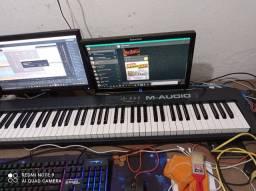 Controlador M-audio KeysPro-88